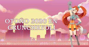 Crunchyroll animes otoño imagen destacada