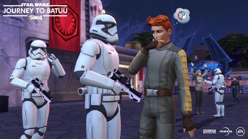 Los Sims 4 Star Wars Viaje a Batuu