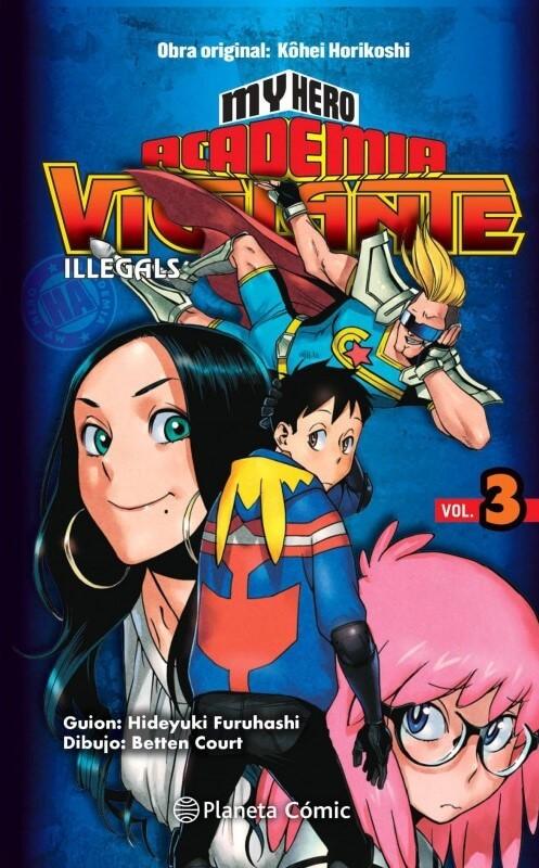 My Hero Academia Vigilante 3 portada española