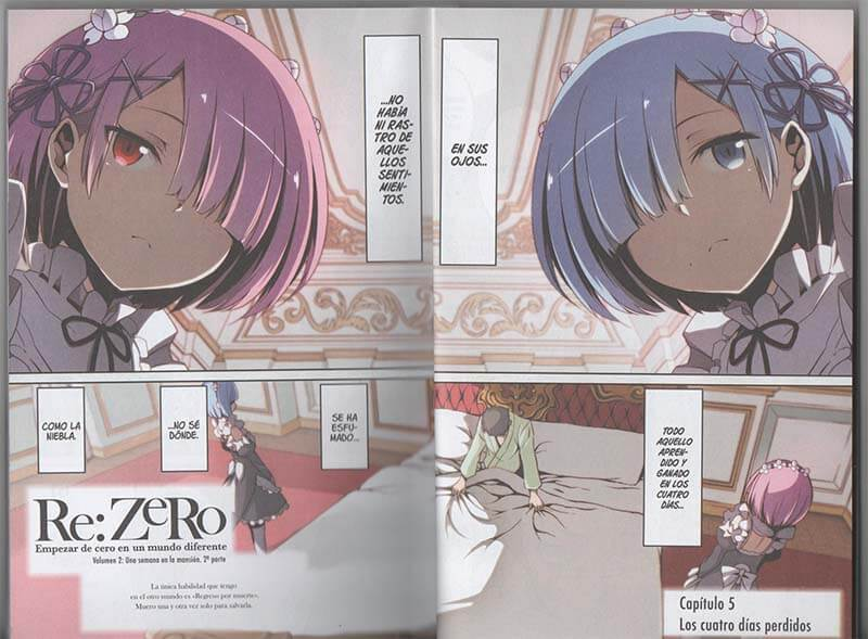 Reseña Re:Zero Chapter 2 #2