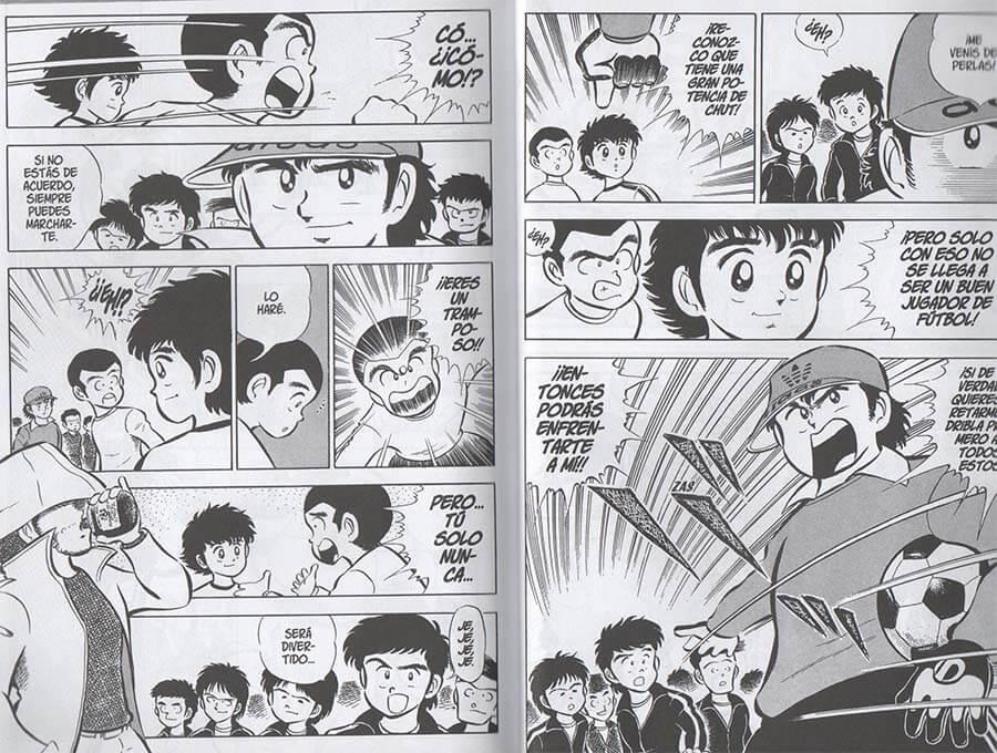 Reseña manga de Captain Tsubasa 1