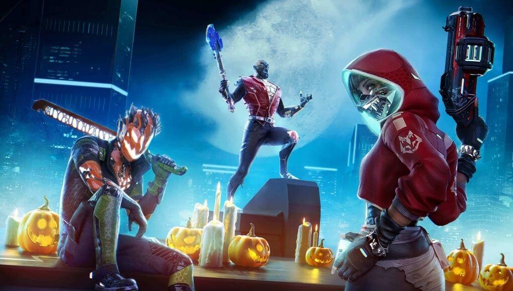 Evento Halloween Hyper Scape