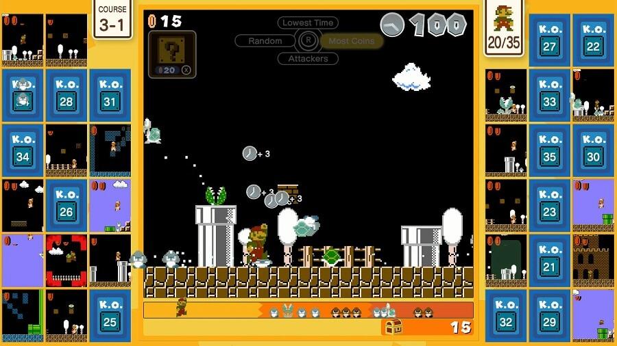 Battle royale Super Mario