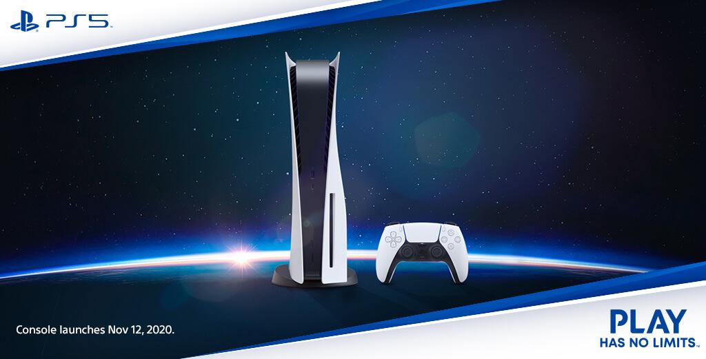 Anuncio de lanzamiento global de PS5