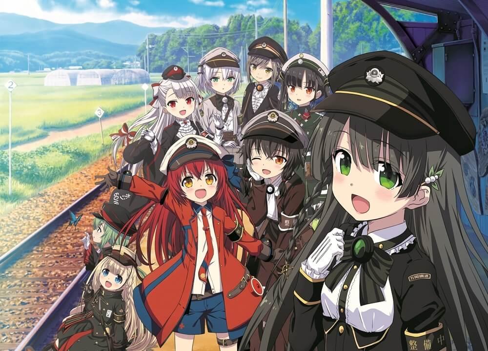 Crunchyroll animes otoño rail