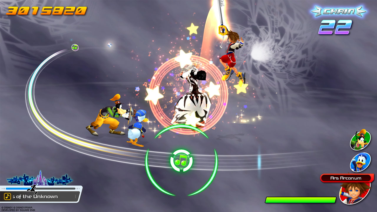 Análisis Kingdom Hearts: Melody of Memory