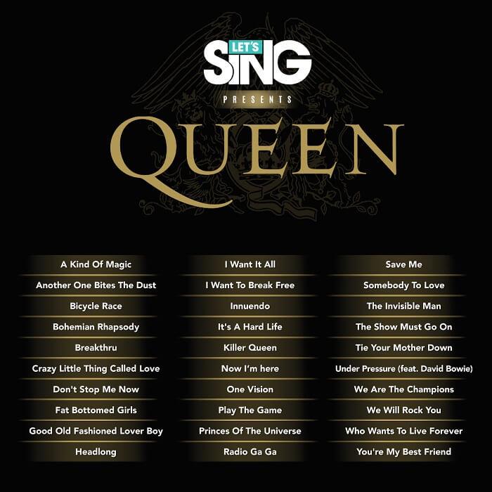 Impresiones Let's Sing presents Queen