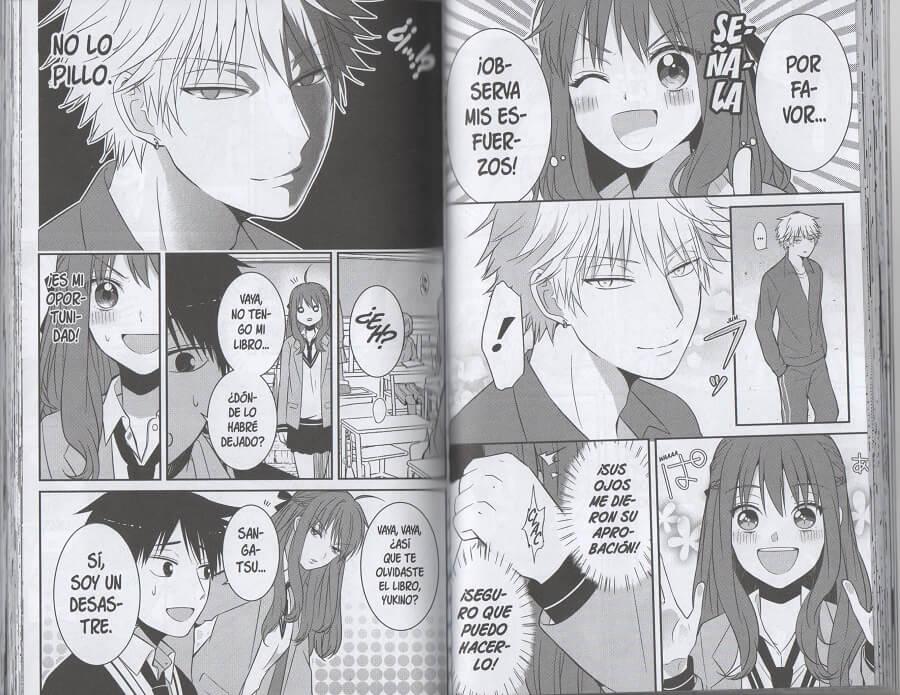Reseña Sangatsu quiere ser un chico interesante 1