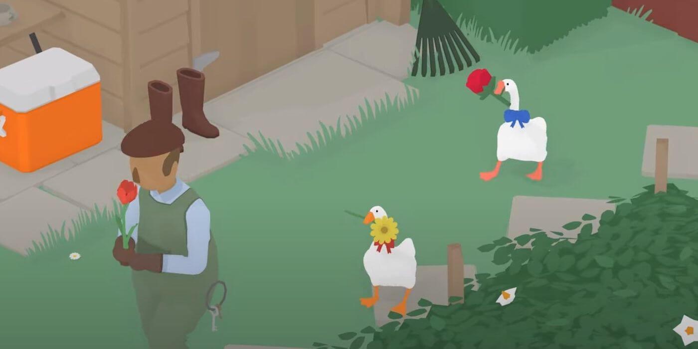 Análisis multijugador Untitled Goose Game