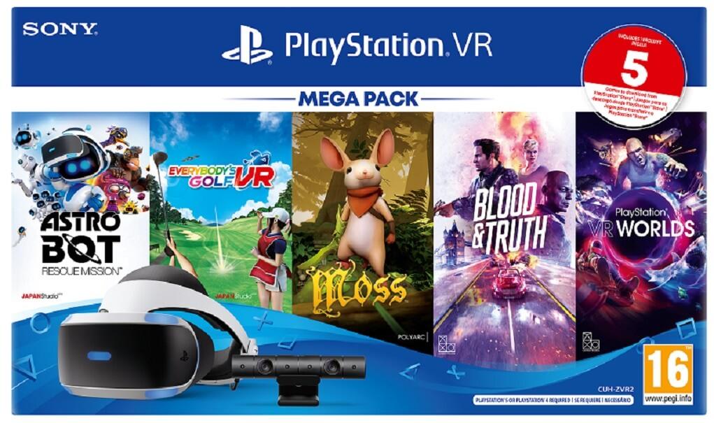 Ya disponible el mega pack de PlayStation VR