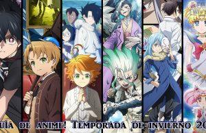 Guía anime invierno 2021 imagen destacada