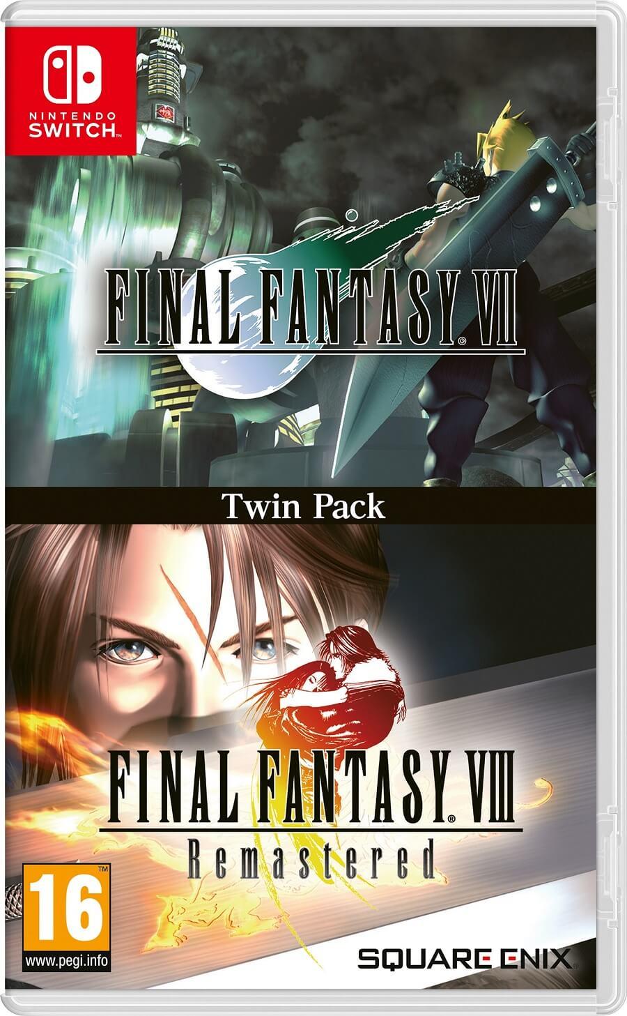Pack Final Fantasy VII y VIII Switch