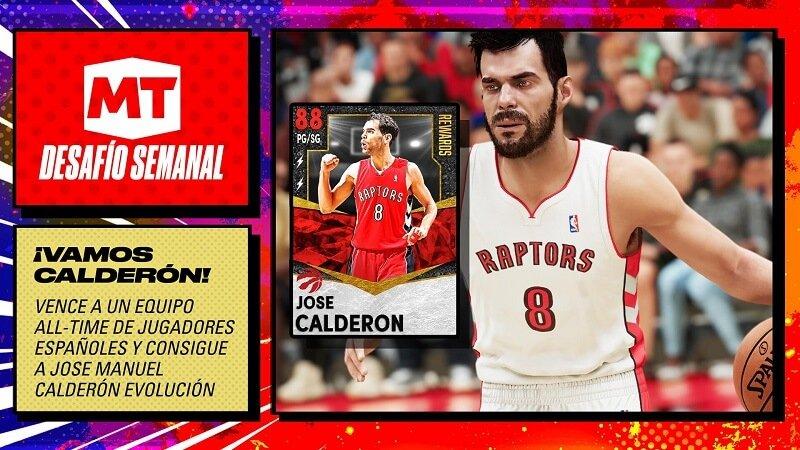 Mi EQUIPO NBA 2K21 jugadores españoles