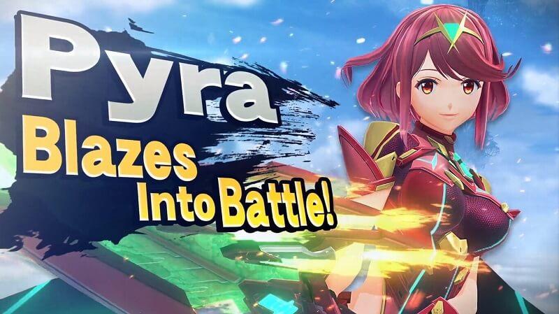 Pyra y Mythra en Super Smash Bros. Ultimate