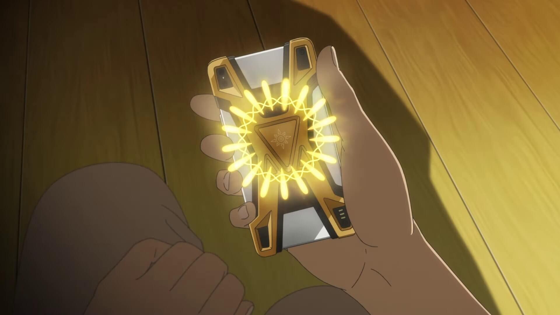 Digimon Kizuna reseña anime dispositivo