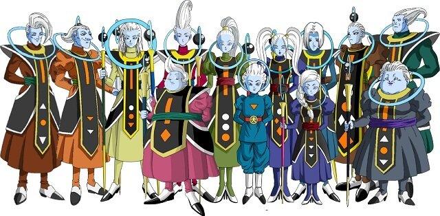 Los personajes más poderosos de Dragon Ball   Whis & los ángeles guía