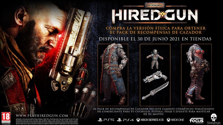 Necromunda: Hired Gun tiene nuevo tráiler de juego