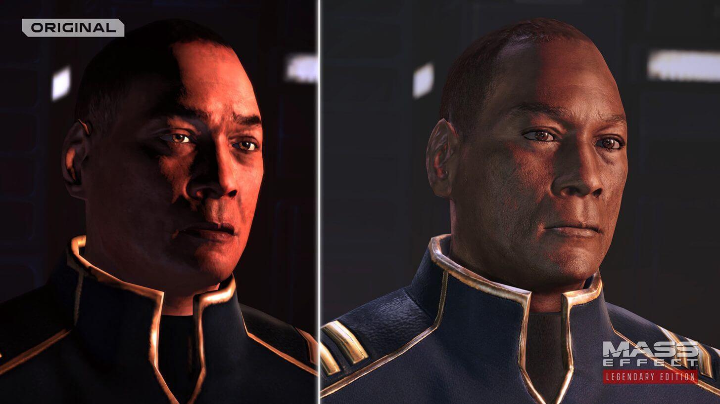 Mejoras gráficas Mass Effect Legendary Edition