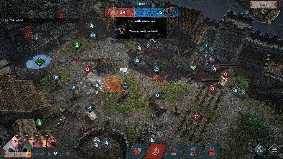 El videojuego Siege Survival: Gloria Victis ya está disponible