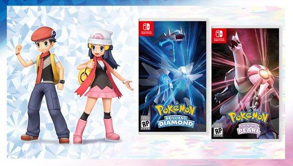 Fecha lanzamiento Pokémon Diamante Brillante yPerla Reluciente