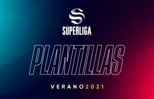 Plantillas Superliga