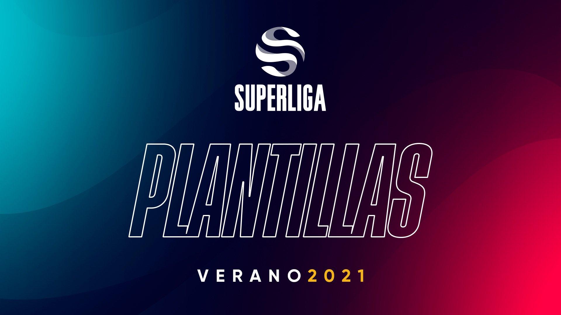 Plantillas Superliga slipt verano 2021