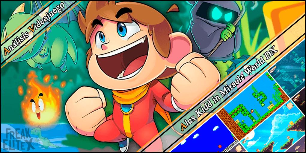 Análisis videojuego - Alex Kidd in Miracle World DX