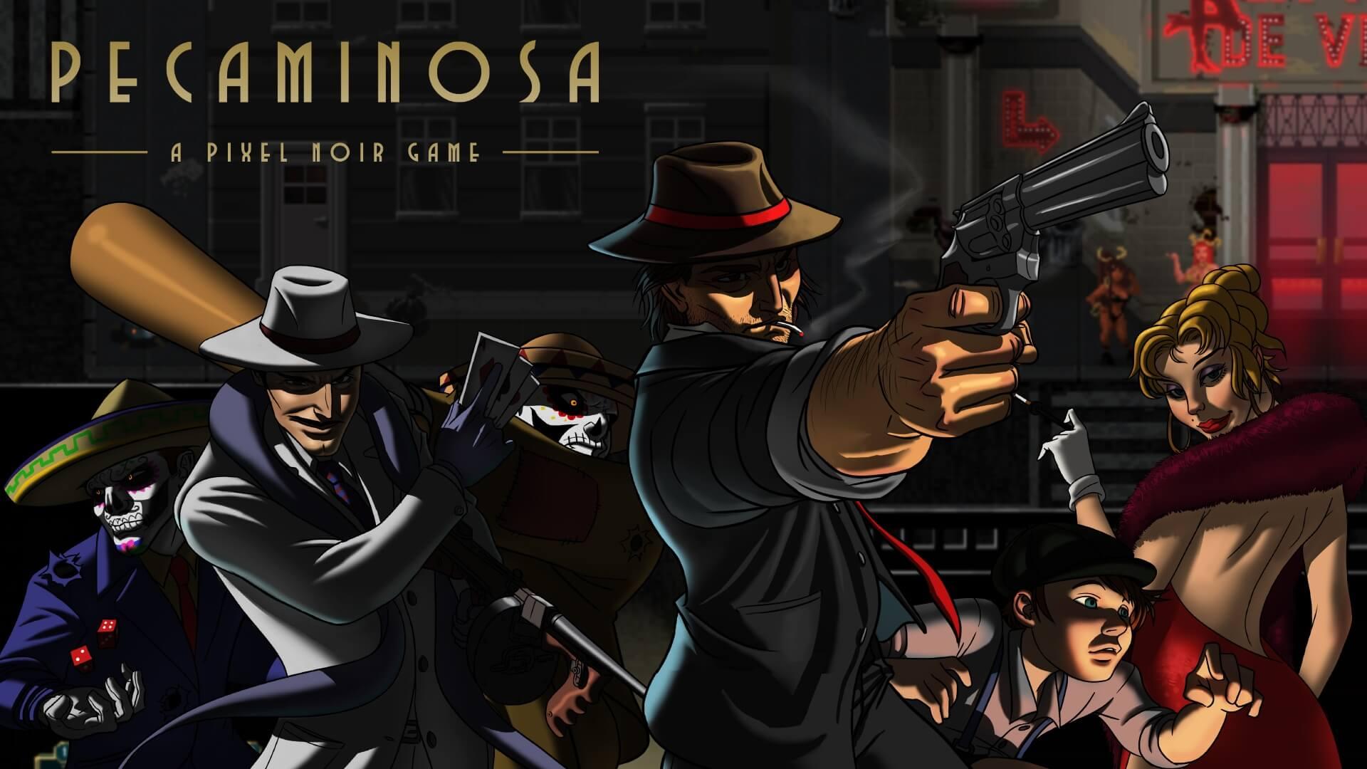 Análisis Pecaminosa: a pixel noir game