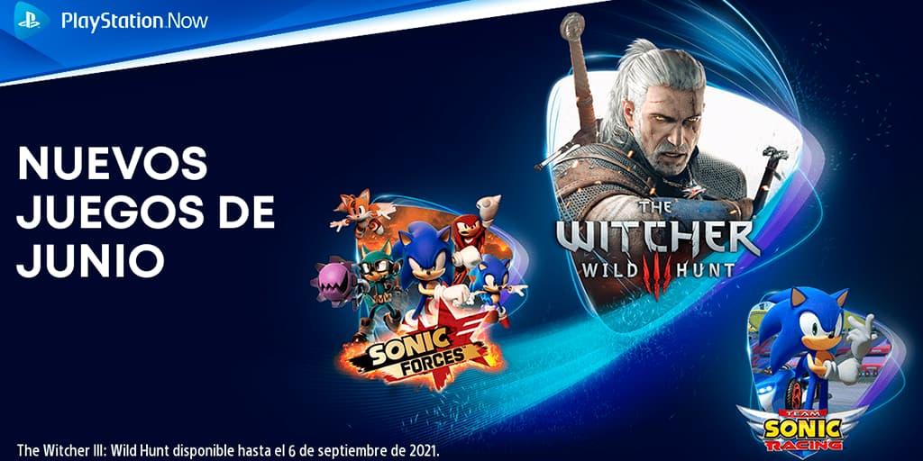 Siete títulos extra para PlayStation Now en junio