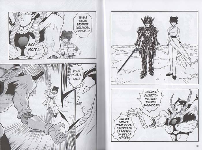 Reseña manga de Dragon Quest Emblem of Roto n.º 15