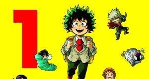 Reseña manga 'My Hero Academia Smash!!' n.º1 portada