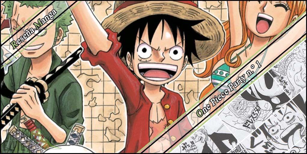 Reseña manga de One Piece Party #1