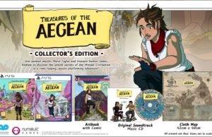 Edición coleccionista de Treasures of the Aegean