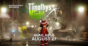 Timothy's Night PlayStation 5