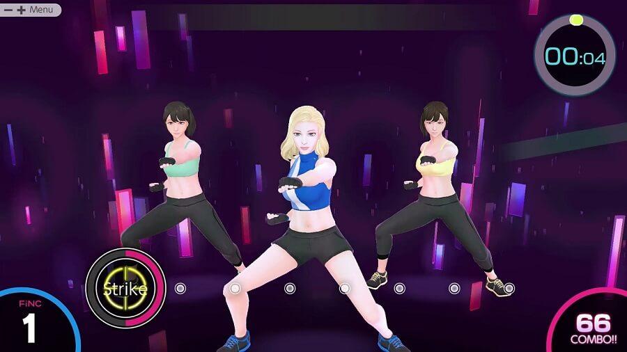 Ya está disponible Knockout Home Fitness para Nintendo Switch